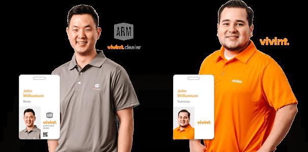 Vivint Verify Representative Or Technician